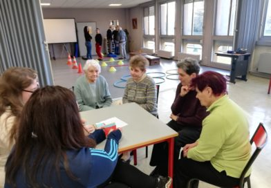 Après-midi récréatif avec l'association Valentin Haüy